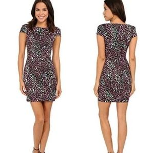 French Connection Electric Leopard Sheath Dress